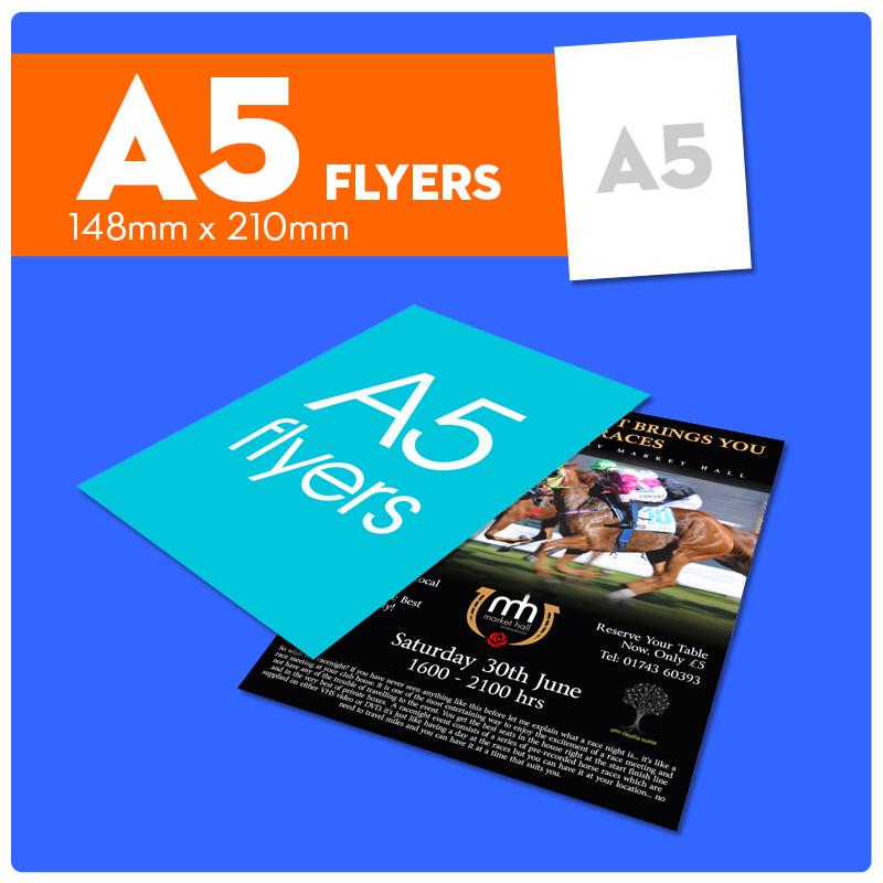 a5 flyers max print bradford yorkshire